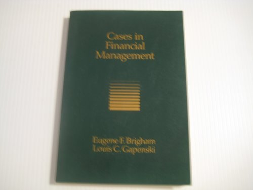 9780030276286: Cases in Financial Management (The Dryden Press series in finance)