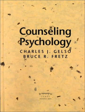 9780030278587: Counselling Psychology (William James Centennial Series)