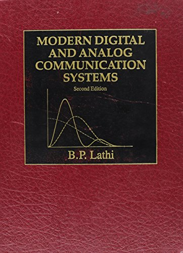 9780030279331: Modern Digital and Analog Communication Systems (The Oxford Series in Electrical and Computer Engineering)