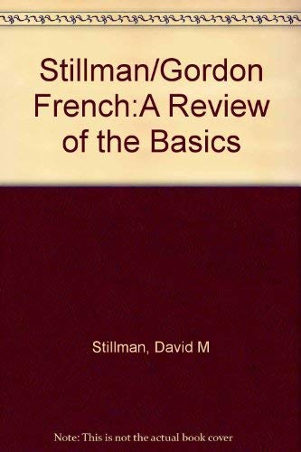 9780030282348: French: A Review of the Basics