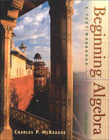 9780030283062: Beginning Algebra:  A Text/Workbook (with Digital Video Companion)
