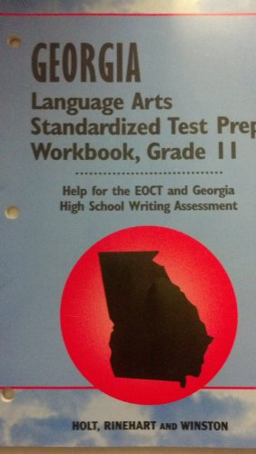 9780030285318: Holt Elements of Literature Georgia: Standard Test Preperation Workbook Grade 11