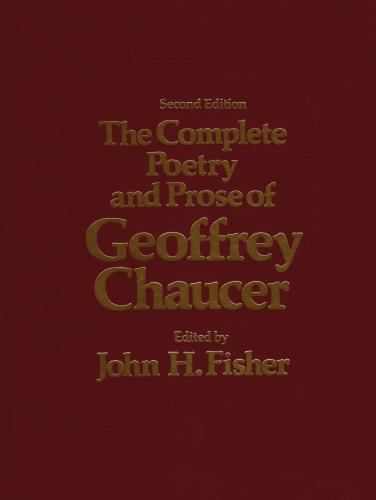 9780030286124: The Complete Poetry and Prose of Geoffrey Chaucer