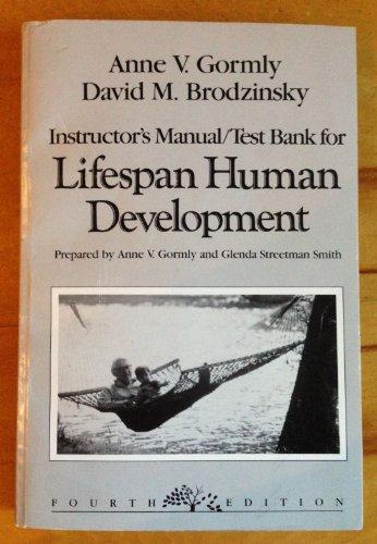 9780030286421: Lifespan Human Development, Instructor's Manual / Test Bank