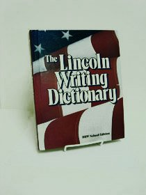 Lincoln Writing Dictionary (9780030287336) by Rinehart, and Winston, Inc. Holt