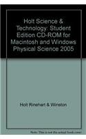 9780030287367: Holt Science and Technology: Physical Science (Student Edition)