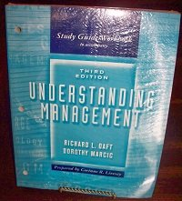 9780030287411: Understanding Management Study Guide