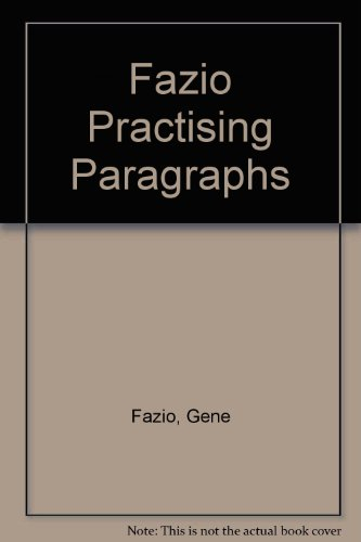 9780030287787: Practicing Paragraphs