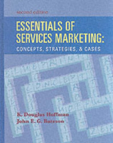 9780030288920: Essentials of Services Marketing: Concepts, Strategies and Cases