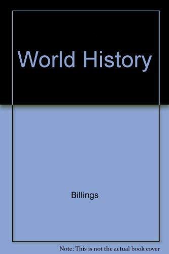 9780030289026: World History