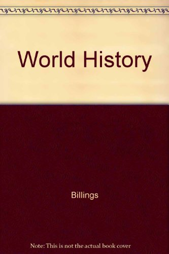 9780030289033: World History