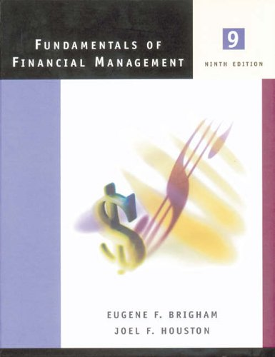 9780030289316: Fundamentals of Financial Management (The Harcourt College Publishers series in finance)