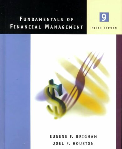 9780030289316: Fundamentals of Financial Management with Student CD-ROM