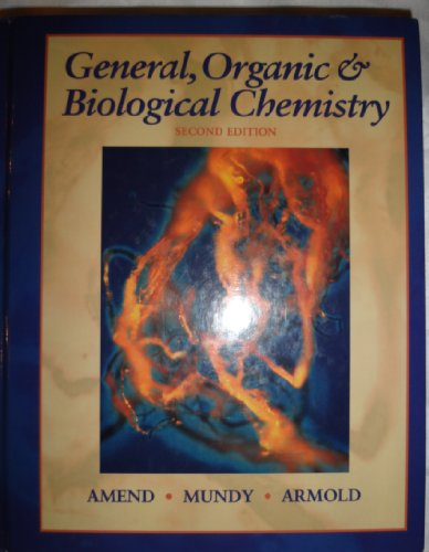 9780030290121: General Organic and Biochemistry (Saunders Golden Sunburst Series)