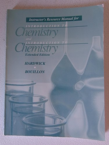 9780030290527: Introduction to Chemistry