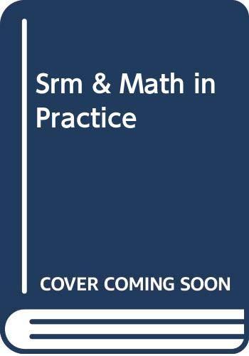 9780030291289: Srm & Math in Practice