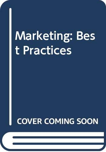9780030291494: Marketing: Best Practices