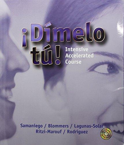 9780030291616: Dimelo Tu: Intensive Accelerated Course