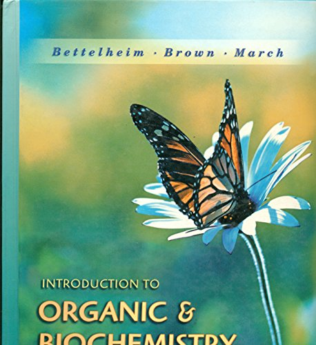 9780030291821: Introduction to Organic and Biochemistry (with CD-ROM)