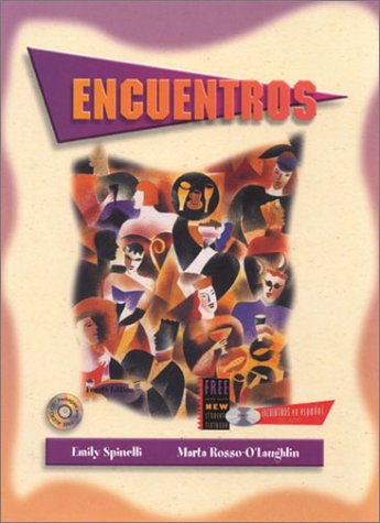 9780030292378: Encuentros (Text/Audio CD/CD-ROM/E-Sam CD-ROM Package)