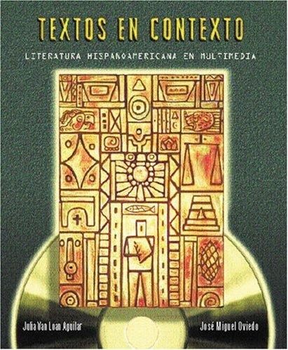 9780030292385: Textos En Contexto: Literatura Hispanoamericana En Multimedia