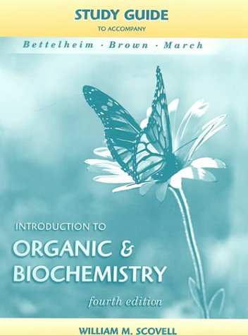 9780030292422: Introduction To Organic And Biochemistry Stydy Guide
