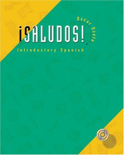9780030292613: Saludos!: Introductory Spanish (with Audio CD) (Spanish series)