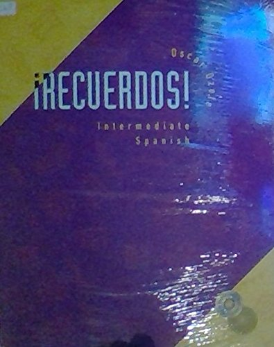 9780030292767: Recuerdos Intermediate Spanish W/CD
