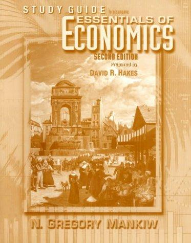 9780030292781: Essentials Of Economics Study Guide