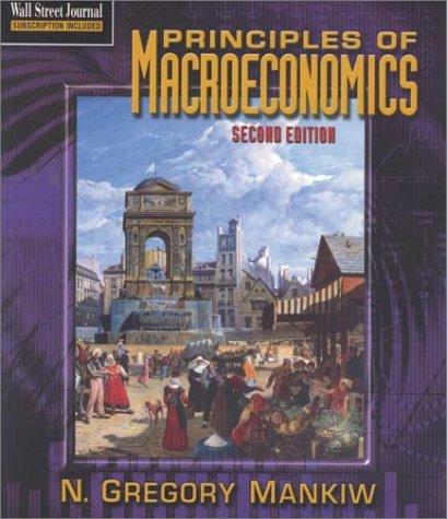 9780030293085: Principles of Macroeconomics