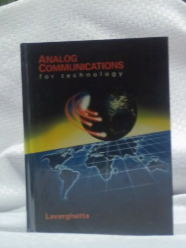 9780030294037: Analog Communications for Technology (Saunders College Publishing series in electronics technology)