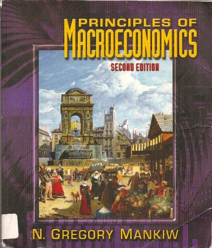 9780030294396: Principles of Macroeconomics