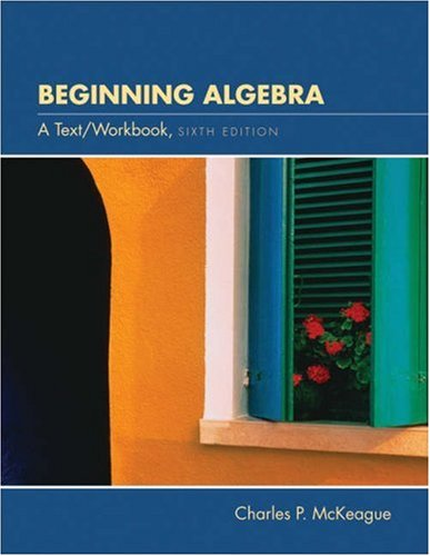 9780030294440: Beginning Algebra: A Text/Workbook (with CD-ROM, Make the Grade, and InfoTrac)