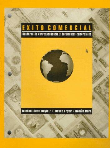 9780030296192: Exito Commerical: Cuaderno De Correspondencia Y Documentos Comerciales (Spanish Edition)