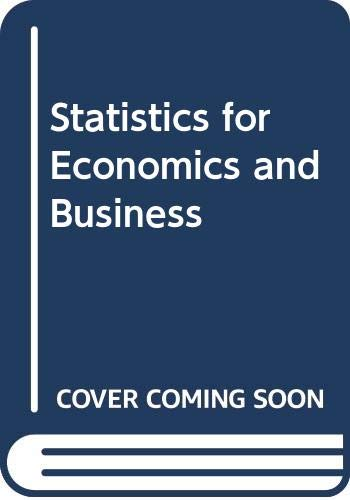9780030297311: Statistics for Economics and Business: Excel Version Plus CD