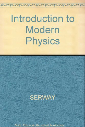 9780030297977: Introduction to Modern Physics