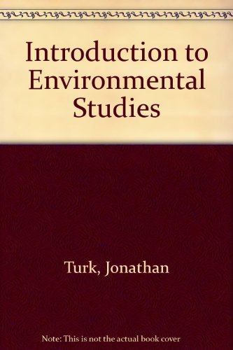 9780030297991: Introduction to Environmental Studies