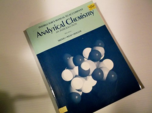 9780030299285: Analytical Chemistry