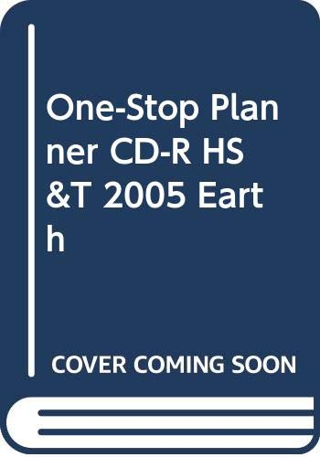 9780030300714: One-Stop Planner with Test Generator (with Interactive Teacher Edition) (Holt Science and Technology, Earth Science)