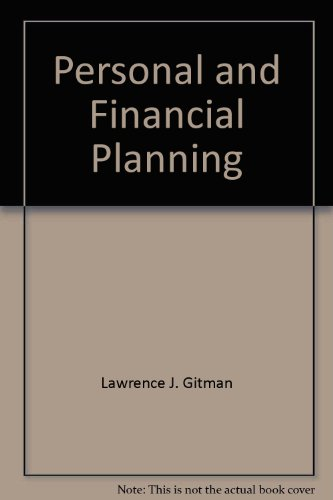 9780030301438: Personal and Financial Planning