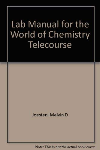 9780030301681: Lab Manual for the World of Chemistry Telecourse