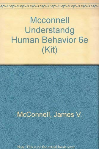 9780030302244: Understanding Human Behavior