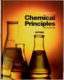 9780030302640: Introduction to Chemical Principles (Saunders Golden Sunburst Series)