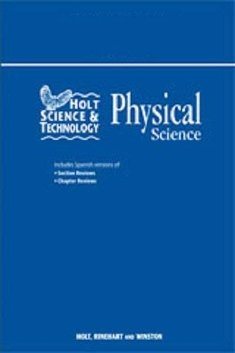 Holt Science and Technology Chapter 19 : Holt, Rinehart and