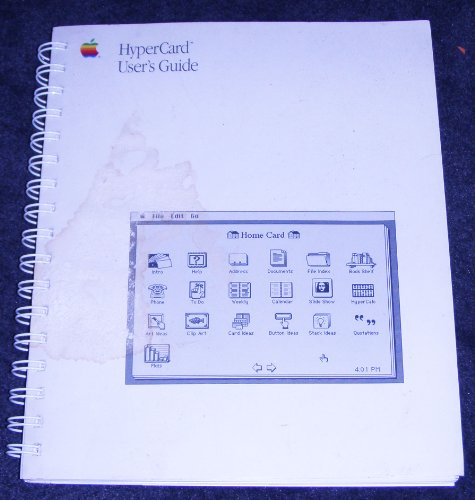 9780030308109: Apple Macintosh Hypercard User's Guide (Spiral-Bound 1987 Printing, First Edition)