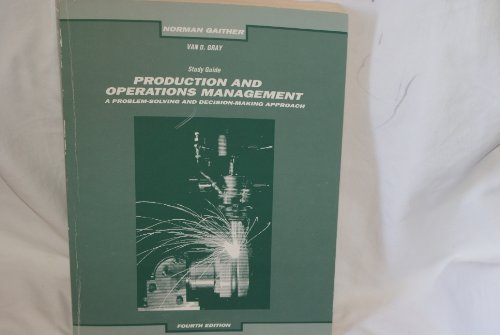 9780030309625: Production and Operations Management