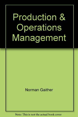 9780030309632: Production & Operations Management