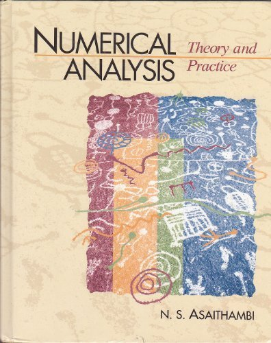 9780030309830: Numerical Analysis Theory and Practice