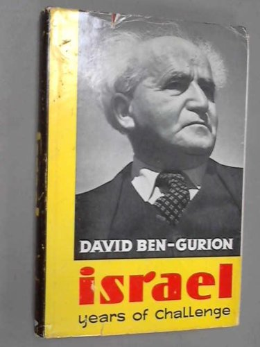 9780030309854: Israel Years of Challenge