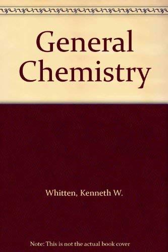 9780030310461: General Chemistry